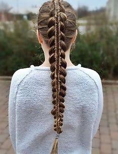 Прически на длинные тонкие волосы #90
