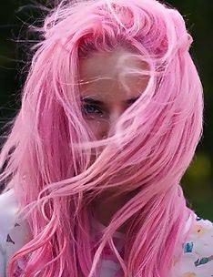 Розовые волосы #01