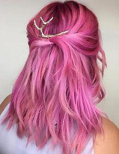 Розовые волосы #04