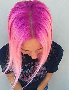 Розовые волосы #05