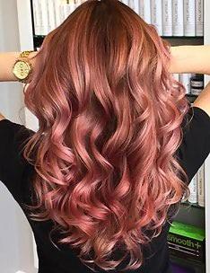 Розовые волосы #07
