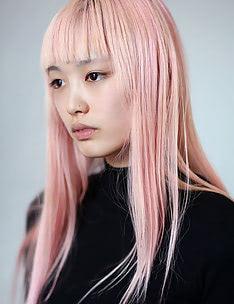 Розовые волосы #08