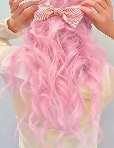 Розовые волосы #09