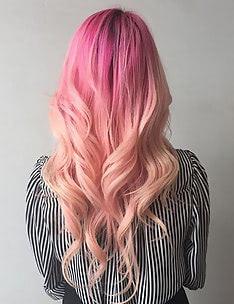 Розовые волосы #10