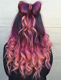 Розовые волосы #11