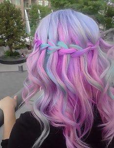 Розовые волосы #13