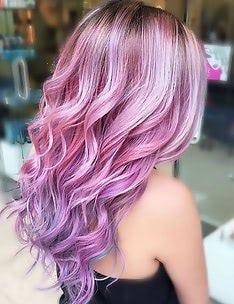 Розовые волосы #15