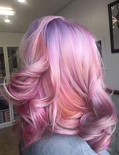 Розовые волосы #16