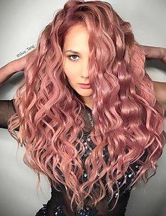 Розовые волосы #19