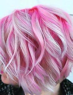 Розовые волосы #20