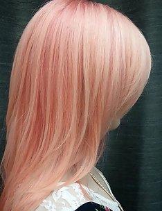 Розовые волосы #21