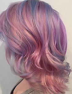 Розовые волосы #22