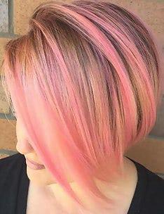 Розовые волосы #24
