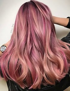 Розовые волосы #25