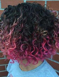 Розовые волосы #26