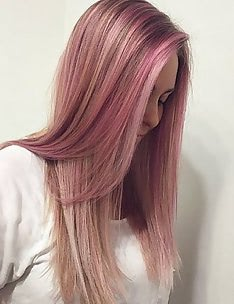 Розовые волосы #28