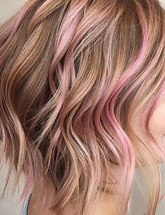 Розовые волосы #30
