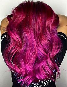 Розовые волосы #31