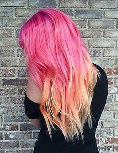 Розовые волосы #33