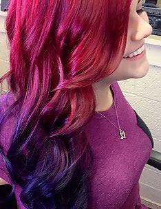Розовые волосы #35