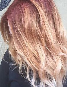Розовые волосы #36