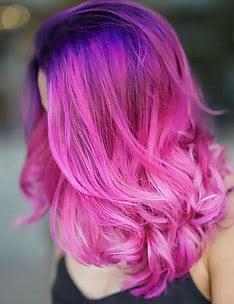 Розовые волосы #37