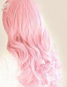 Розовые волосы #38