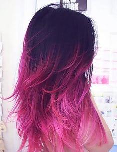 Розовые волосы #40