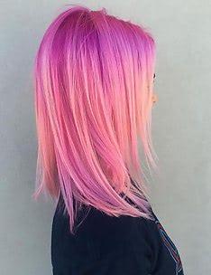 Розовые волосы #41