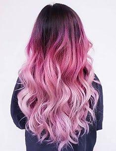 Розовые волосы #43