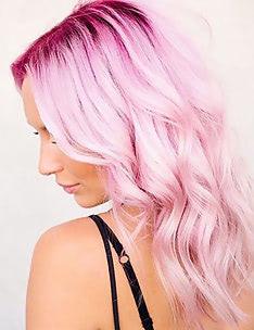 Розовые волосы #44