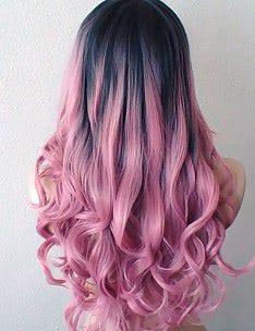 Розовые волосы #47