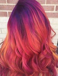 Розовые волосы #51