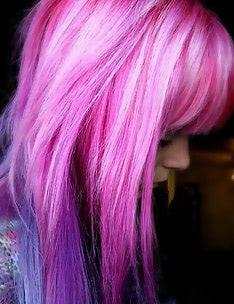 Розовые волосы #52