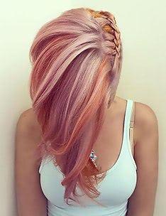 Розовые волосы #54