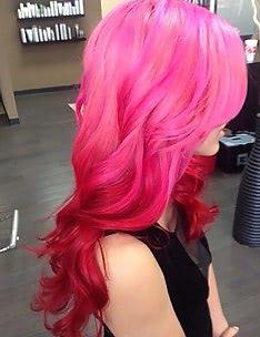 Розовые волосы #57