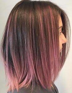 Розовые волосы #56