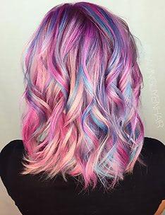 Розовые волосы #59
