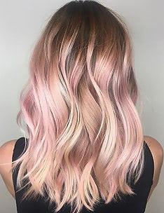 Розовые волосы #60