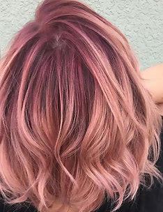 Розовые волосы #61