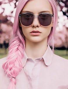 Розовые волосы #62
