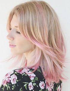 Розовые волосы #64