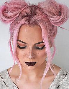 Розовые волосы #65