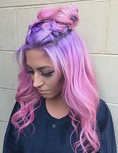 Розовые волосы #66