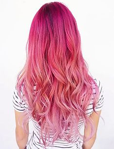 Розовые волосы #68