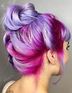Розовые волосы #69