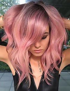 Розовые волосы #70