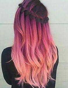 Розовые волосы #71
