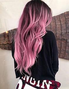 Розовые волосы #73
