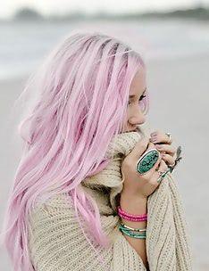 Розовые волосы #74